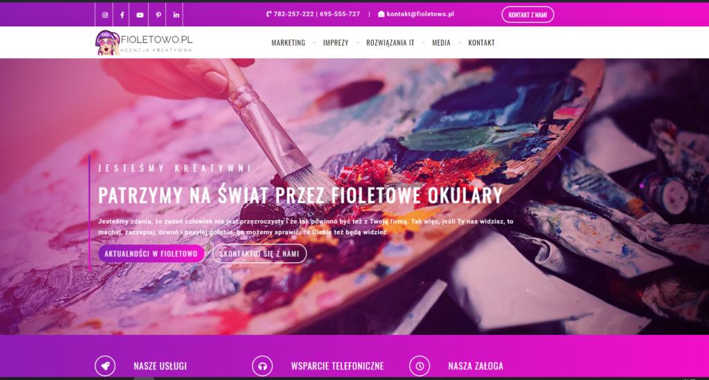www.fioletowo.pl