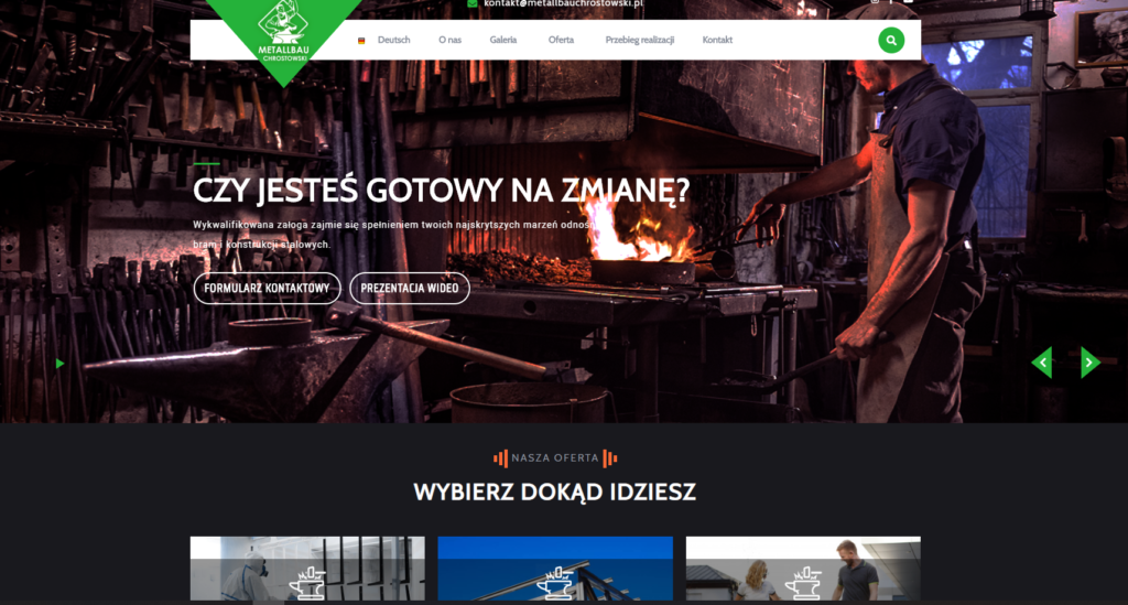 www.metallbauchrostowski.pl