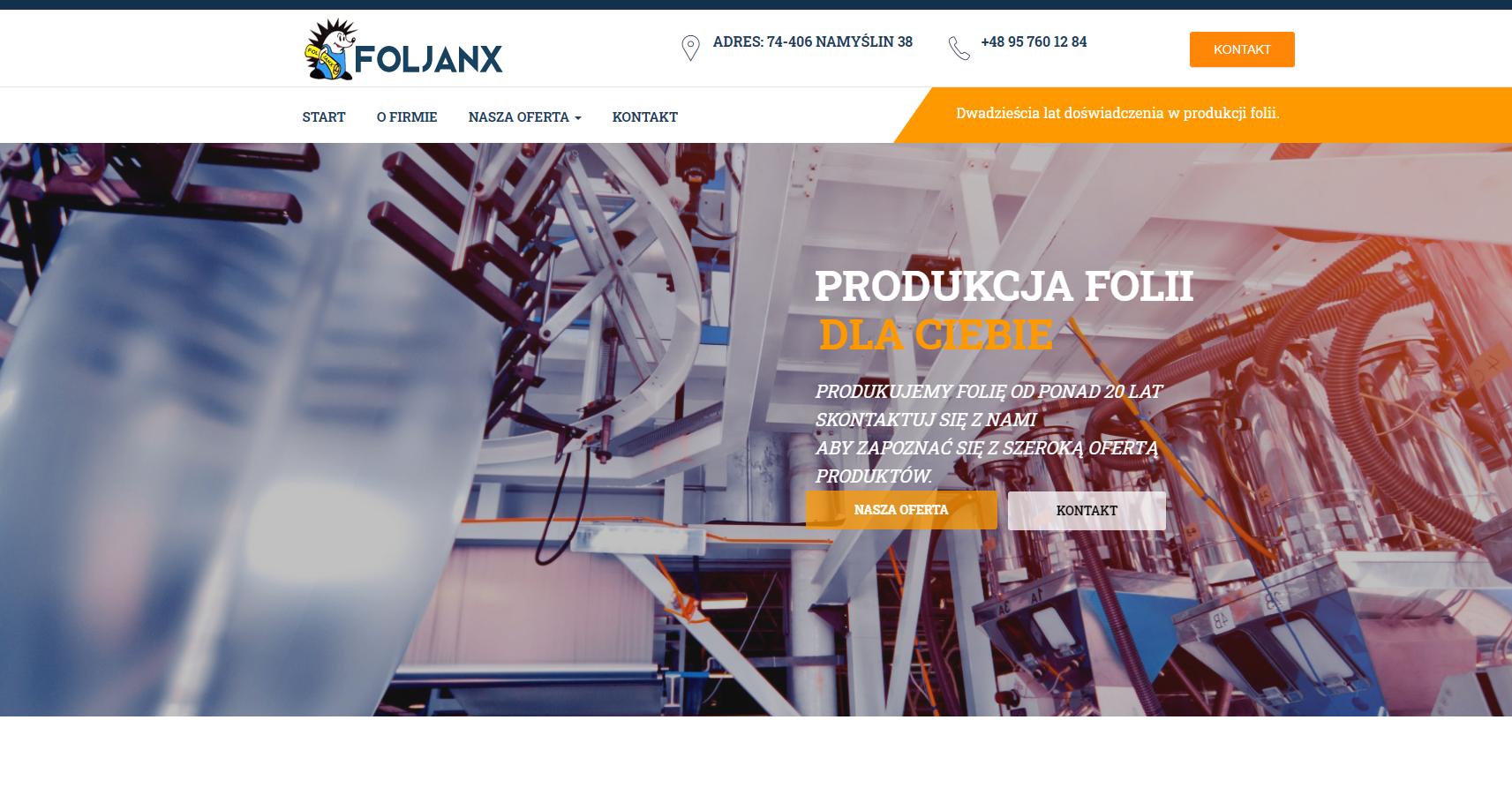 www.foljanx.pl